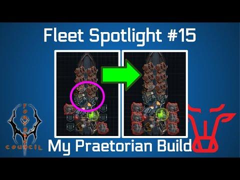 Battle Pirates: My Imperator's Praetorian Build [Fleet Spotlight 15] December 2019