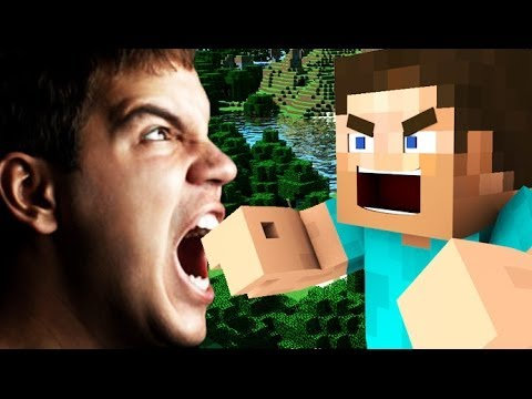 WORLD'S MOST ANGRY MINECRAFT PLAYER! (Minecraft Trolling RAGE!)