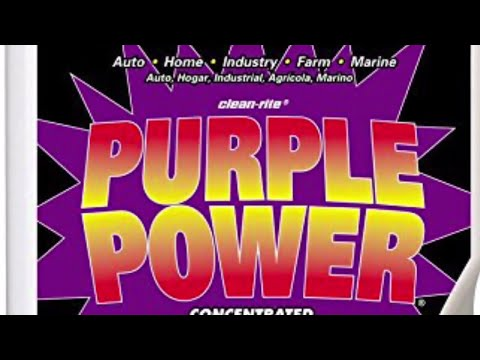 Purple Power Concentrated Industrial Cleaner Degreaser!!!