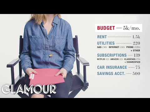 How One Woman Spends Her $95,000 Salary | Money Tours | Glamour