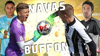 BUFFON VS NAVAS | CHAMPIONS LEAGUE FINALE 2017