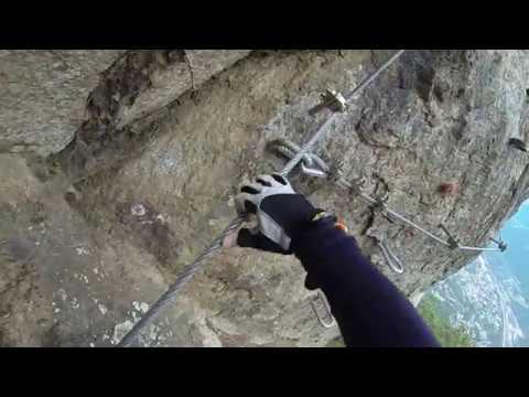 Klettersteig Unterstell : Knott klettersteig unterstell youtube