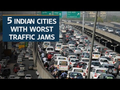 Five Indian cities known for worst traffic jams