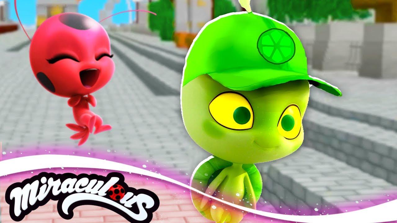 Minecraft MIRACULOUS Ladybug 🐞 CARAPACE ORIGINS 🐞 S3 EP28   Minecraft Animation Roleplay