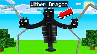 25 WITHER BOSSES MINECRAFT NEVER ADDED!