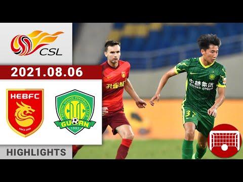 Hebei Zhongji Beijing Guoan Goals And Highlights