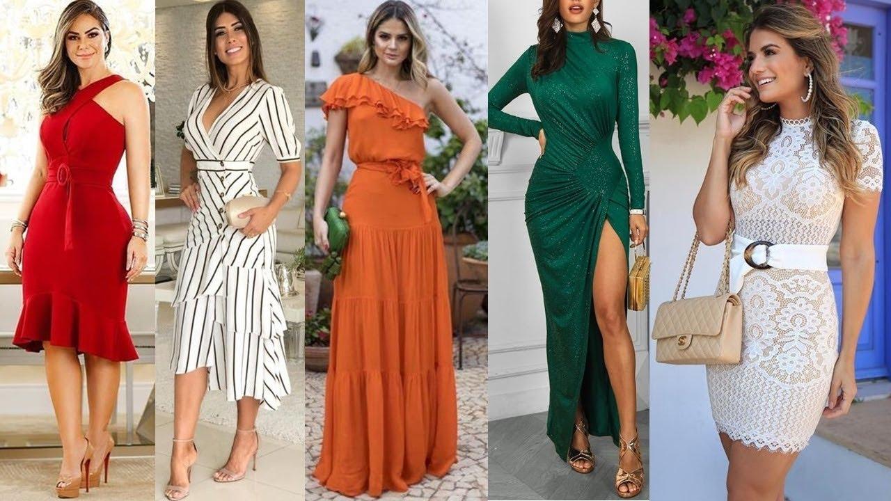 Hermosos Vestidos Elegantes De Moda Y Tendencia 20192020