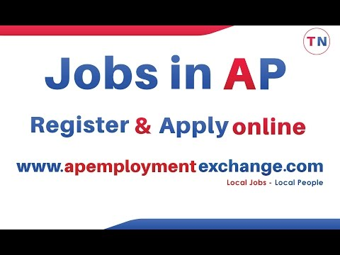Andhra Pradesh employment exchanges - Local Jobs for Local People