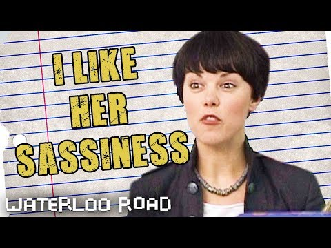 Waterloo Road Teacher SarahJane Potts Likes Her Character's Sassiness  Waterloo Road