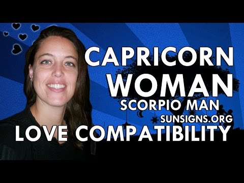 Capricorn Woman Scorpio Man – An Interesting & Intellectual Match