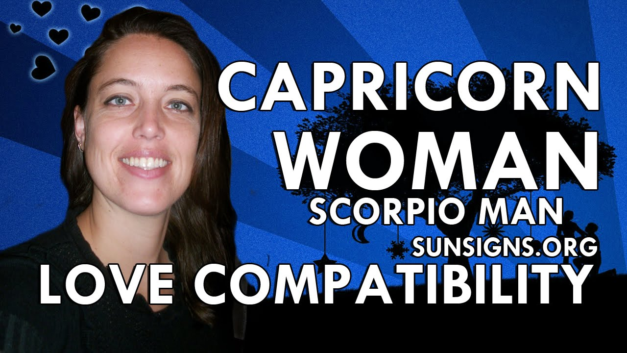 Capricorn Woman And Scorpio Man Relationship