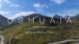 USHUAIA - Maiden flight in Patagonia [4K]