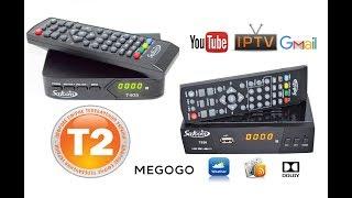 Satcom T405 (Satcom T530) Тюнер Т2 з інтернет - відео огляд, налаштування DVB-T2, IPTV каналів