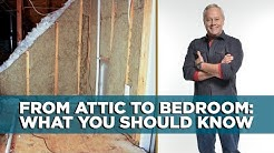 Convert An Attic to a Bedroom