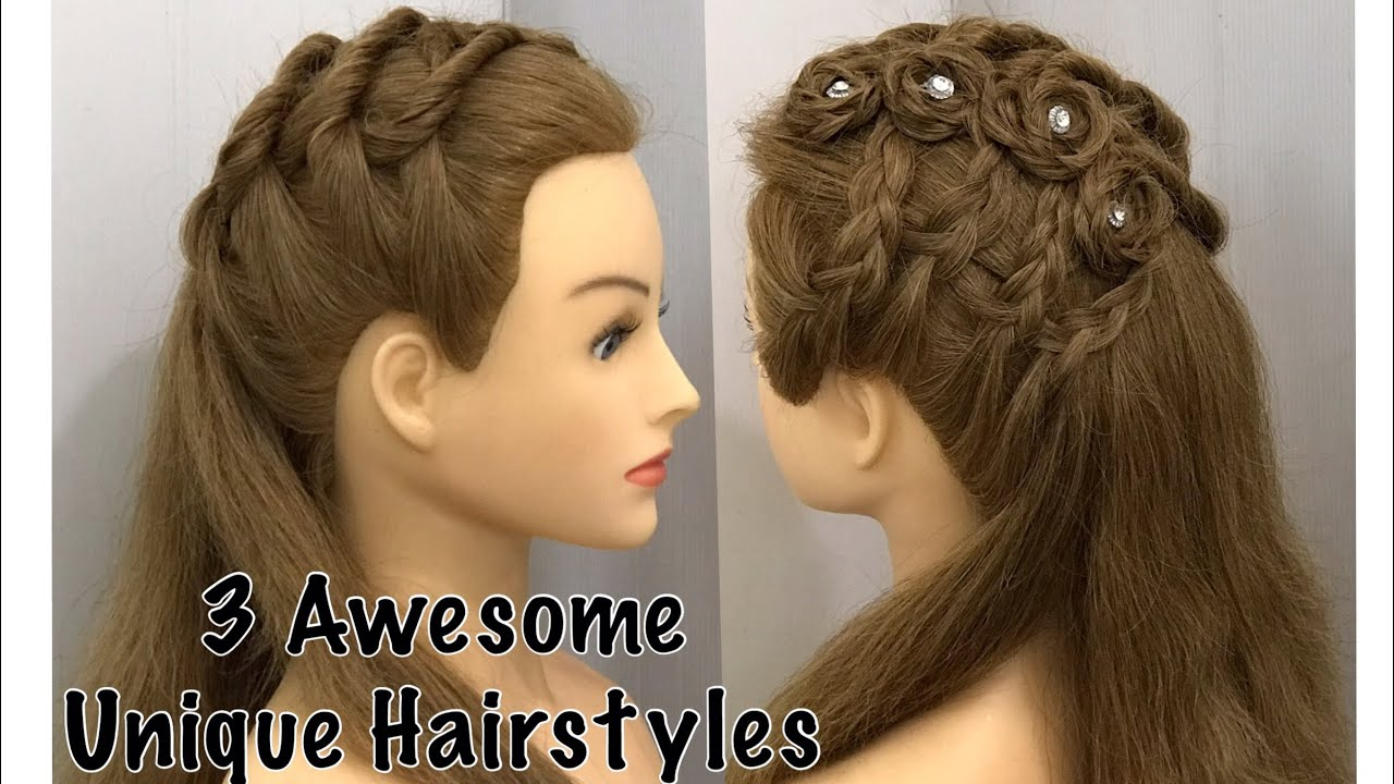 Beautiful Open Hairstyle for Wedding or party | Easy Hairstyles | Red  carpet Hairstyles