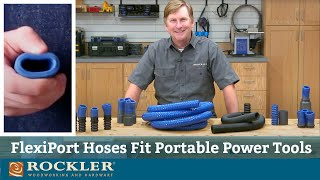 This Dust Hose Fits Most Portable Power Tools