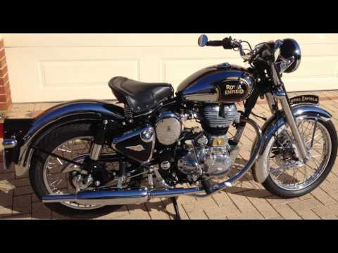 Royal Enfield C5 with 8 inch Headlight conversion