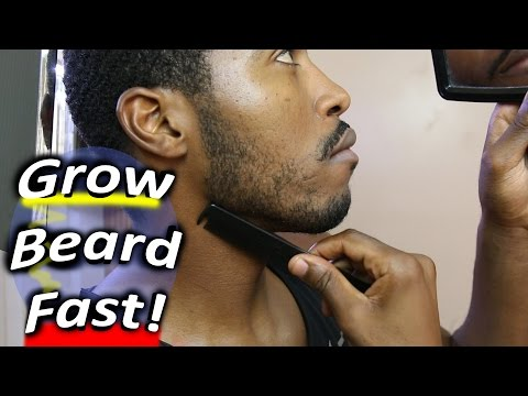 How to Grow a Beard Faster Naturally at...