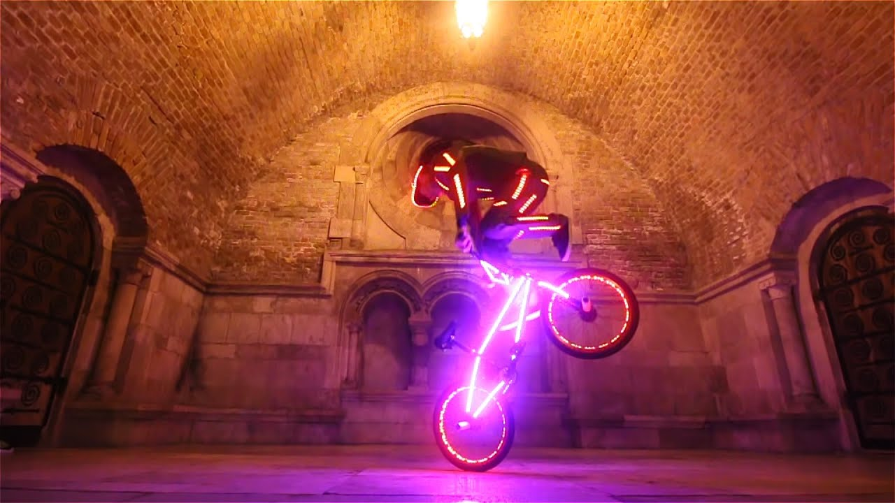 Wireless Programmable LED BMX  YouTube
