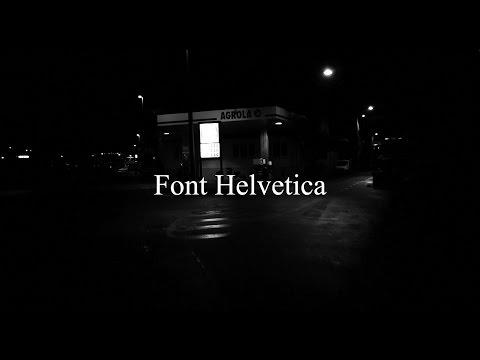 PQadrat - Font Helvetica [Official Clip]