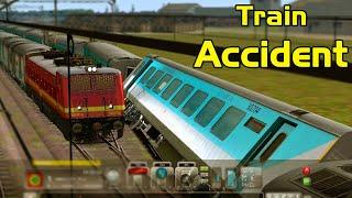 Epic TRAIN ACCIDENT in Train Simulator Game