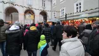 Зальцбург перед Рождеством(Небольшое видео Зальцбурга перед Рождеством: прокатимся на фуникулере до крепости Хоэнзальцбург и посмотр..., 2013-01-25T07:14:31.000Z)