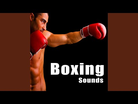 Large Boxing Crowd Ambience with Bell Ring