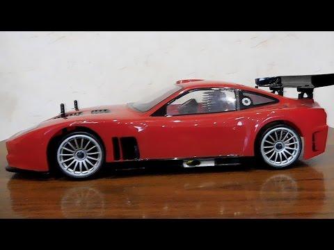 Обзор KYOSHO 1/10 GP 4WD/ FW-06 Ferrari 575 GTC RTR