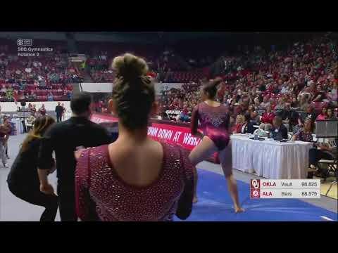 Maggie Nichols (Oklahoma) 2018 Vault vs Alabama 10.0