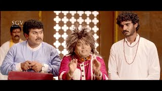 Sudeep back to back hitting Sadhu Kokila | Chikkanna | Rachita Ram | Comedy Scenes of Kannada Movies