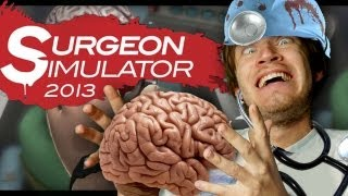 Surgeon Simulator 2013 (Full Version) - BRAIN SURGERY SUCCESS! - Part 3