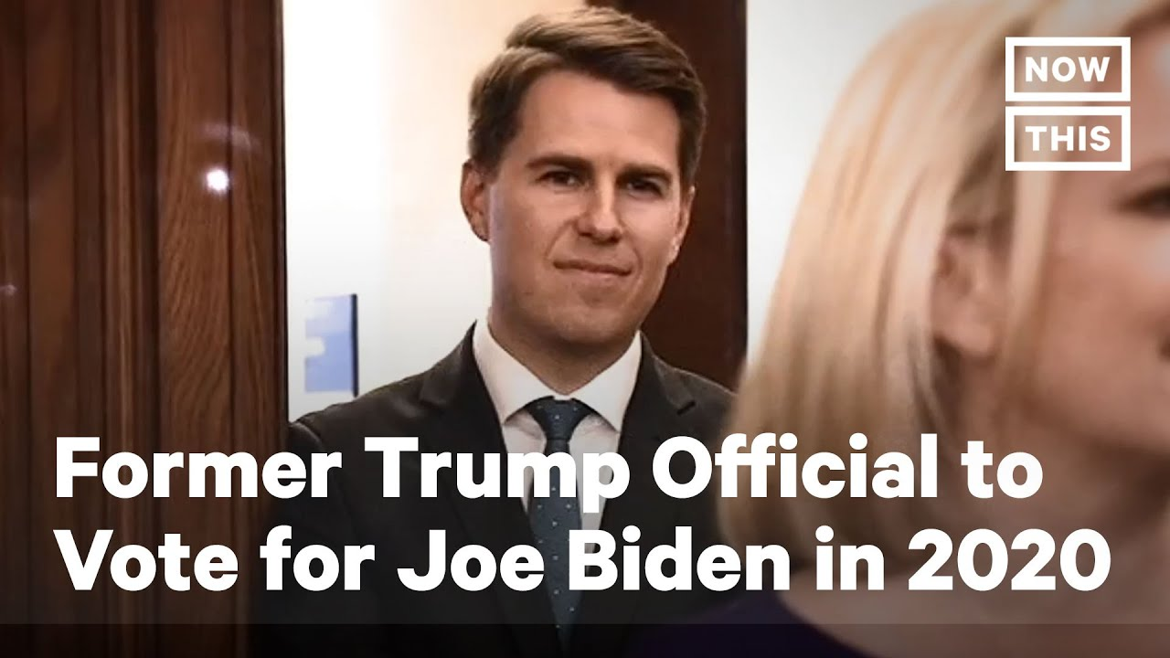 Former Trump Official to Vote for Joe Biden in 2020 | NowThis