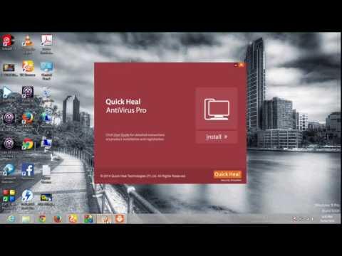 windows 8 antivirus  quick heal software
