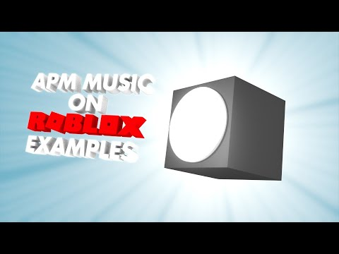 APM Music on Roblox Examples