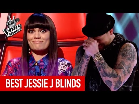 The Voice  BEST JESSIE J Blind Auditions