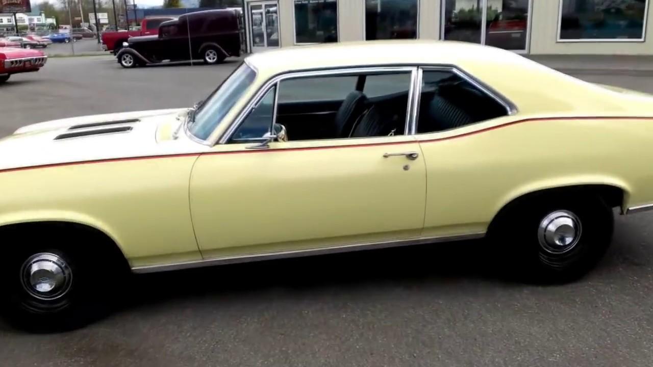 1968 Chevy Nova 327 4 spd - YouTube