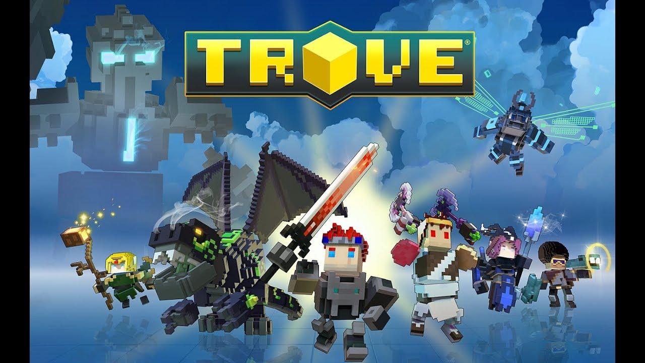 playing trove with views no bully pls *not talking* im back?