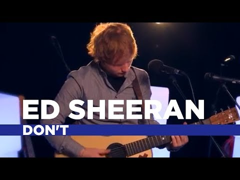 Thumbnail: Ed Sheeran - Don't (Capital Session)