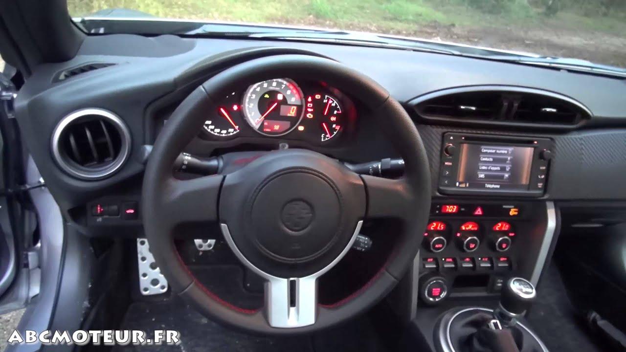 Toyota GT86 2014 (présentation extérieure & intérieure + exhaust ...
