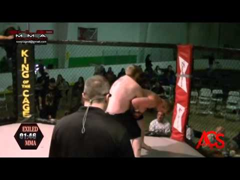 EXILED MMA and ACSLive.TV PRESENTS Conway Beaudry Vs William Tonning