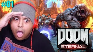 THIS GAME IS CRAZY!!!! [DOOM: ETERNAL] [CAMPAIGN] [#01]