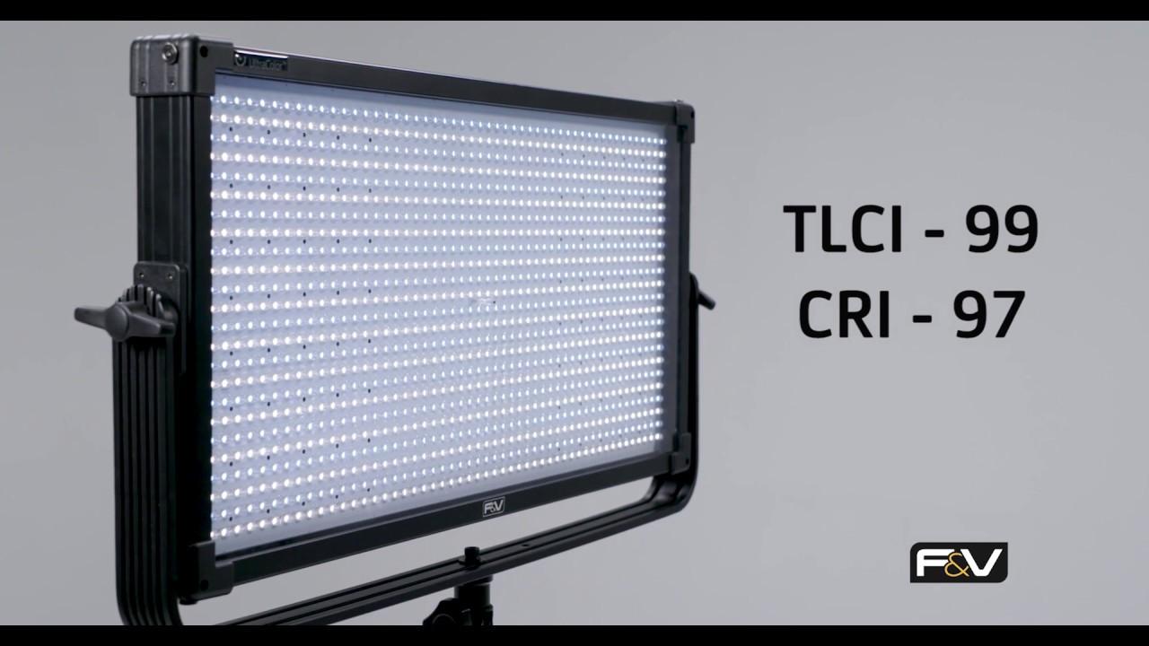 Led Lampen Panel : F v se serie studio panel led leuchten youtube