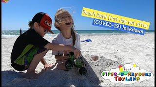 Piper N Hayden | Beach Day!! First day out after (COVID-19) lockdown