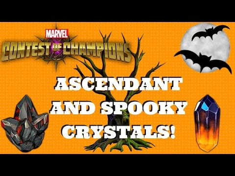Ascendant And Spooky Crystal! | Marvel Contest Of Champions - YT