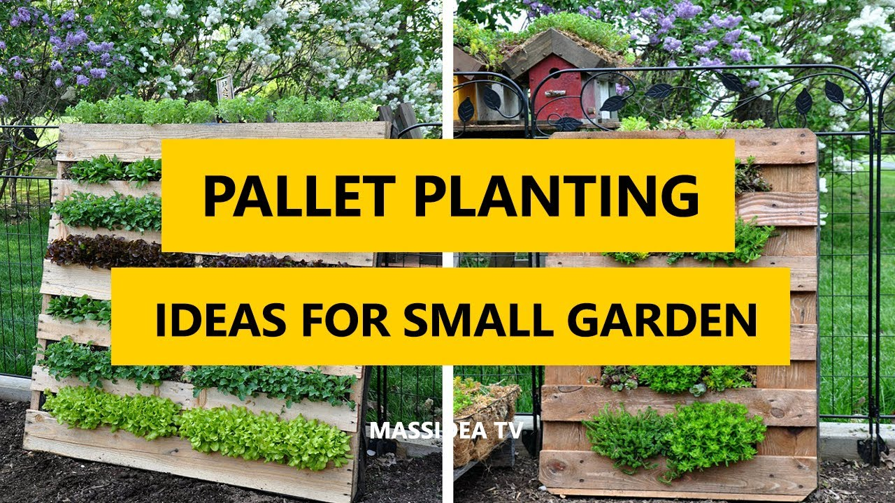 50+ Creative Upcycle Pallet Planting Ideas for Small Garden 2017 ...
