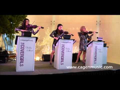 Here Comes The Sun - Cagen Music CoverGirls Rock Violin Show
