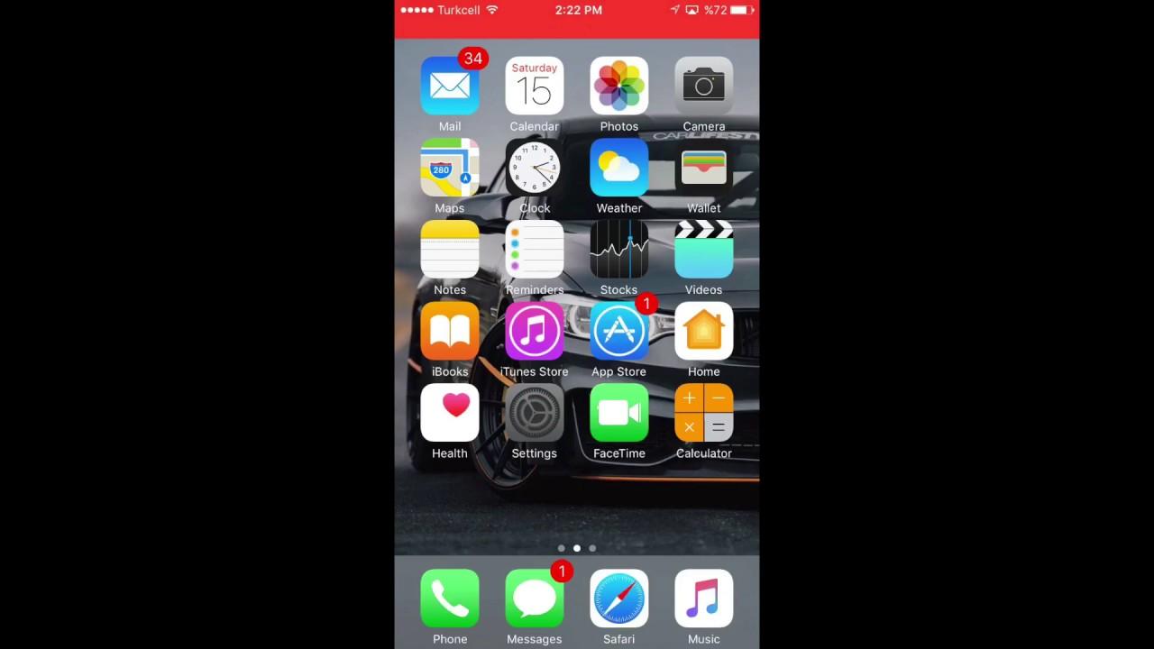 تفعيل ميزة 3d Touch للايفون 6sو6s بلس و7و7بلس Youtube