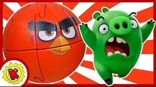 КРАШИКИ Энгри Бердз. Angry Birds. 3Д пазл. Игрушки.