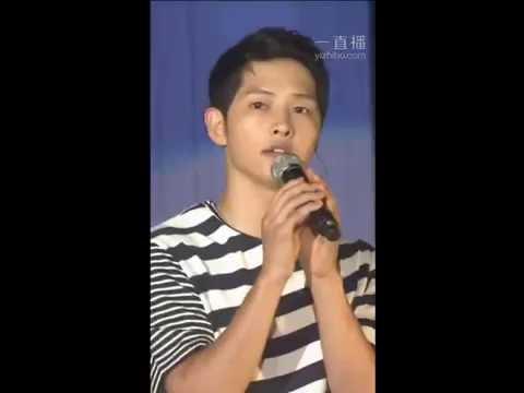 160716 송중기 Song Joong Ki FM sing 'Always' Descendants Of The Sun OST 태양의 후예OST 宋仲基