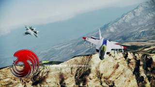 ACE COMBAT INFINITY Area B7R Dogfight Battle No.116